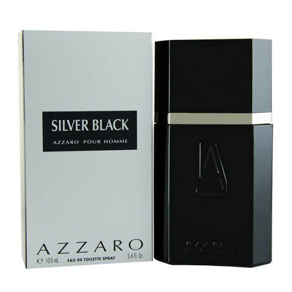 perfume azzaro silver black